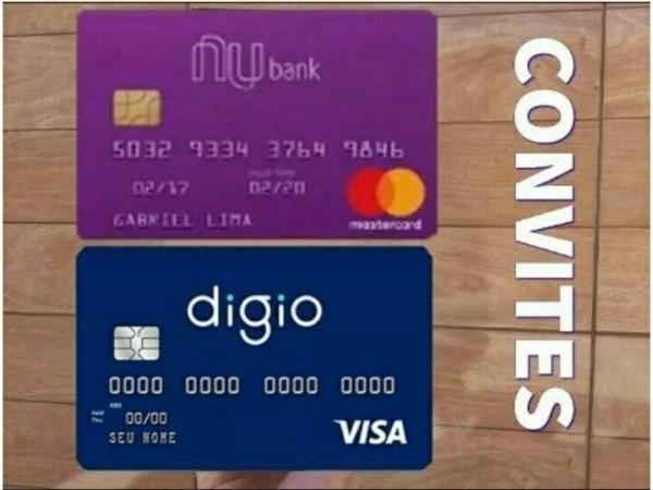 Convites Nubank E Digio Cartões Sem Anuidade Envio Imediato!