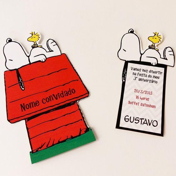 Festa Snoopy  37 Dicas Incríveis P  Sua Festa! 【bolos, Painéis E
