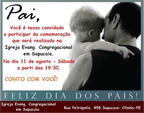 Igreja Evangélica Congregacional Em Sapucaia  Convite Para O Culto