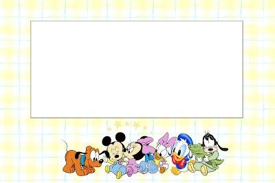 Disney Babies  Free Party Printables