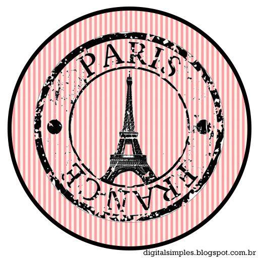 Kit Personalizado Tema Festa Paris Para Imprimir
