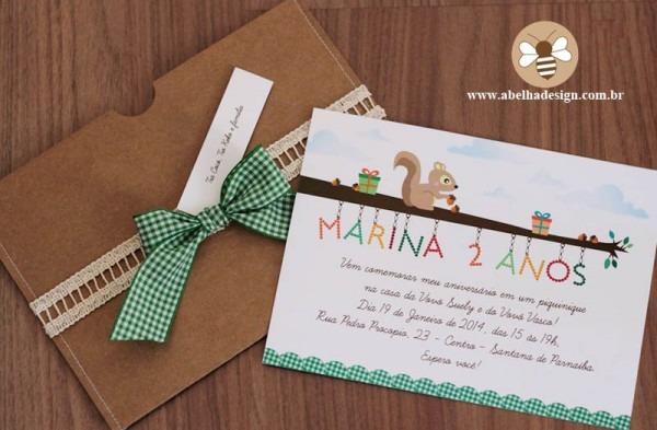 Convite Infantil Personalizado