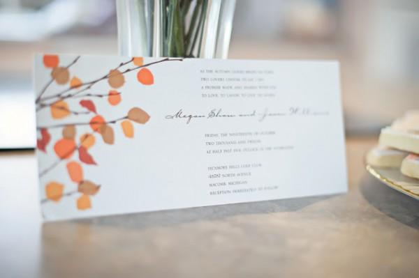 Convite Simples, Elegante E Romântico