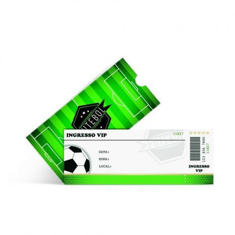 Convites Ingresso Futebol