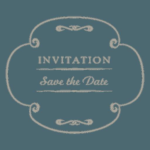 Etiqueta De Convite De Casamento Redondo 4