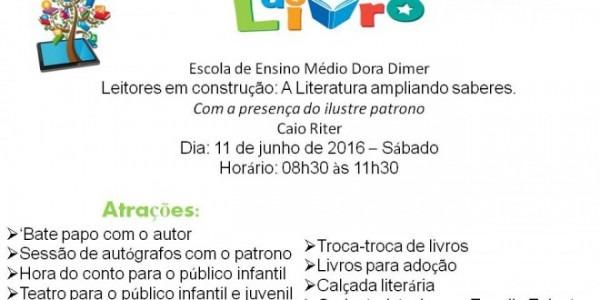 Convite Feira Do Livro 2016
