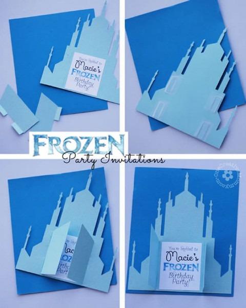Festa Frozen » 70 Ideias Simples E Criativas (fotos E Passo A Passos)