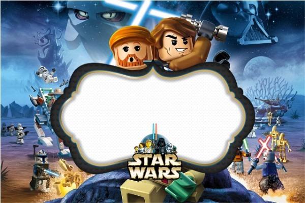 Kit Completo Digital Lego Star Wars!