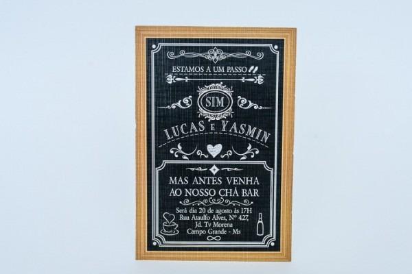 Convite De Chá Bar Ref 403