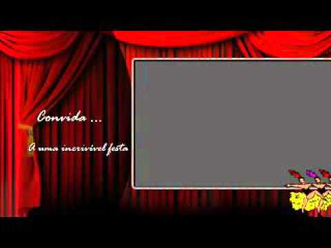Convite Animado Cabaret