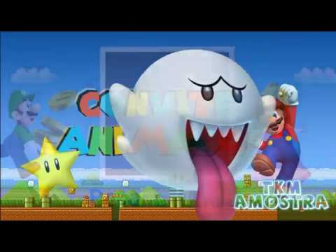 Convite Animado Super Mario Tkm Convites Animados