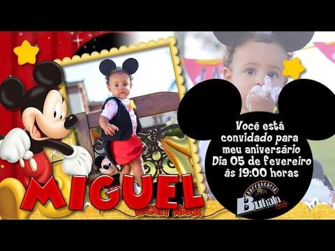 Convite Miguel