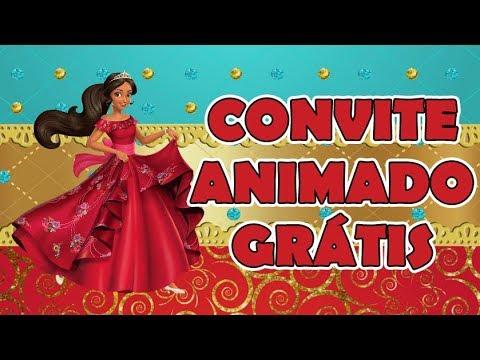 Convite Animado Grátis