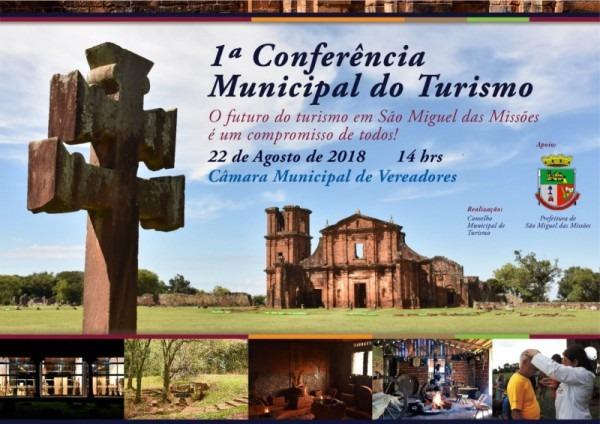 Convite Para Conferência De Turismo Em São Miguel Das Missões