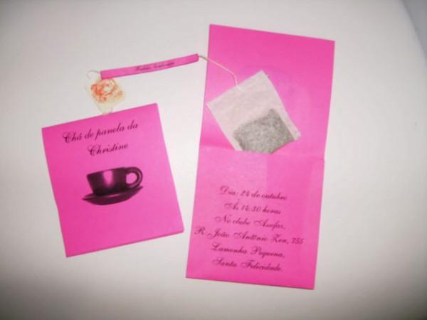 Convites Chá