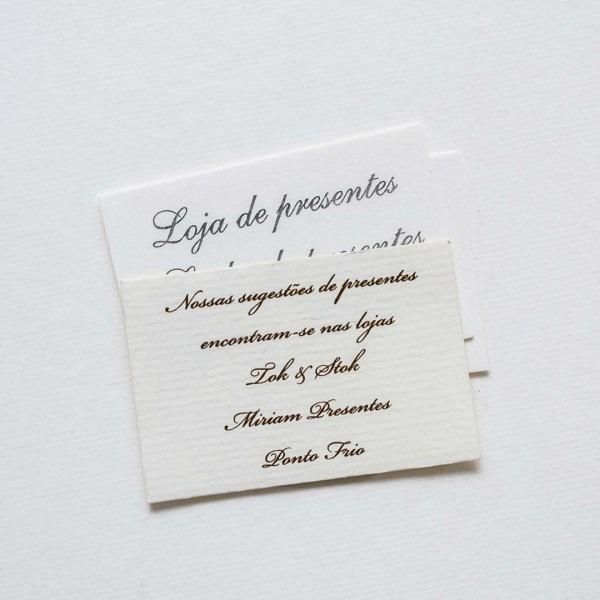 Convite Individual Para Convite De Casamento