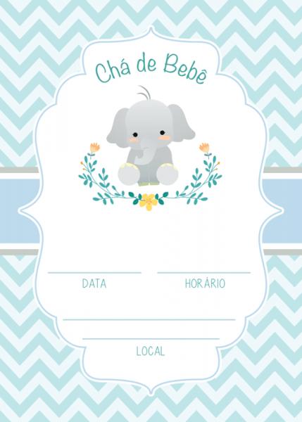 Kit Festa Chá De Bebê Menino