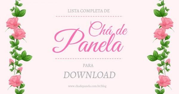Convites De Chá De Panela Para Download