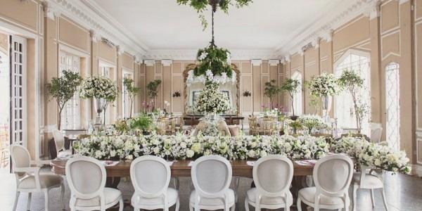 Decoração De Casamento Branca  Dicas Para Ter Uma Festa Clássica!