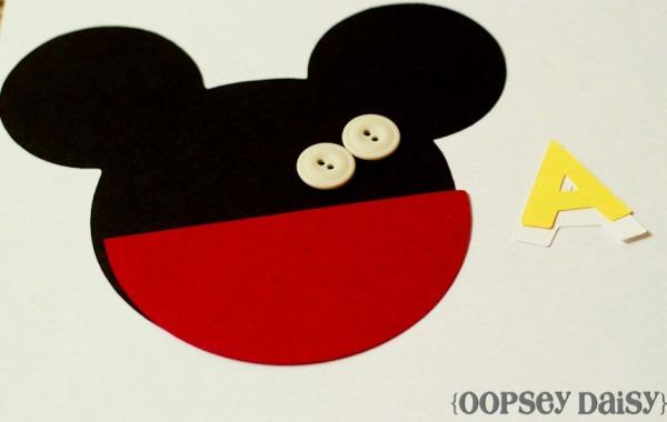 Convite Carinha Do Mickey Mouse