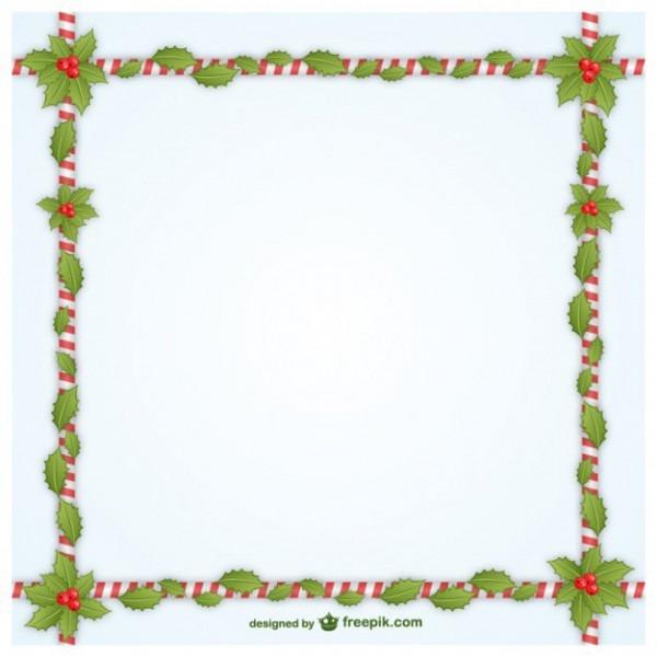 Natal Moldura Decorativa