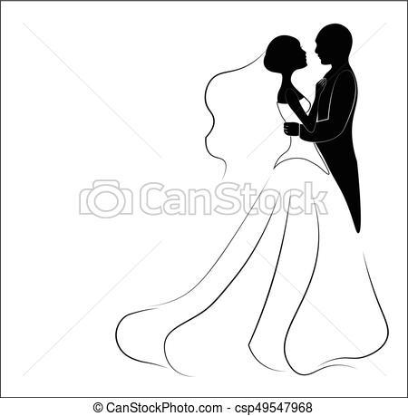 Noivinhos  Casório, Noivo, Silueta, Noiva, Convite