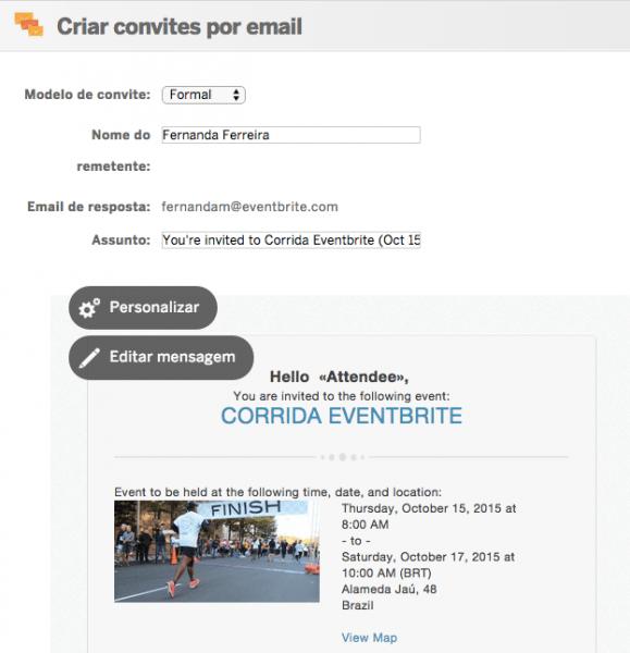 Como Criar E Enviar Convites Por Email Para Seu Evento