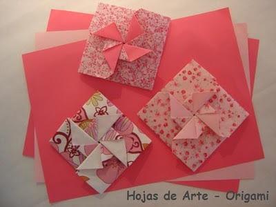 Origami Folhas De Arte  Convite Para Festa