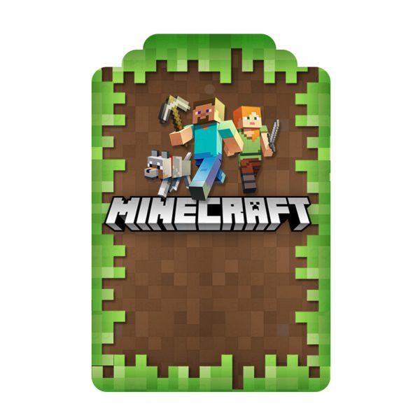 Convite Minecraft Grátis Para Editar E Imprimir + Kit Digital Para