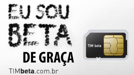 Convite Tim Beta Gratis