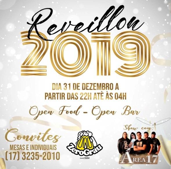 Confira A ProgramaÇÃo De Alguns RÉveillon 2018 2019 Em Rio Preto