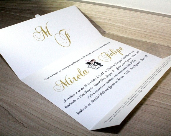 100 Convites De Casamento Barato E Lindo Comprar Convite