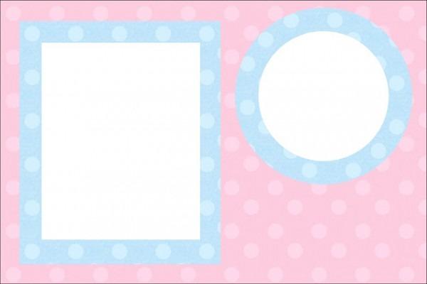 Rosa E Azul Poá