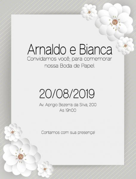 Convite Online Para Bodas