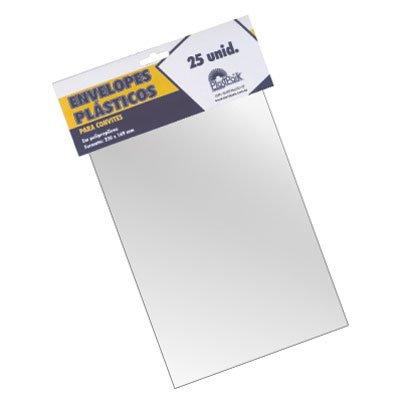 Envelope Plástico P Convites 169x230mm Pp 0,05 741 Plastpark