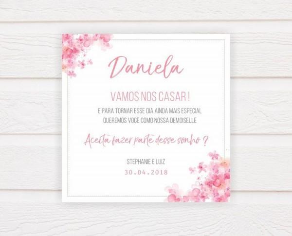 Convite Para Demoiselle (arte Digital)