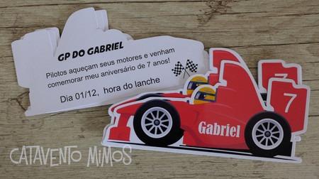 Convite Formula 1