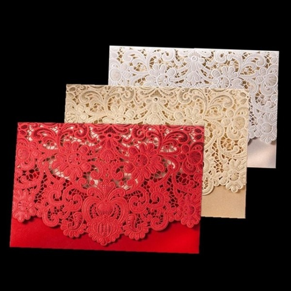 50 Pcs Rústico Fontes Do Casamento Vermelho Branco Do Vintage