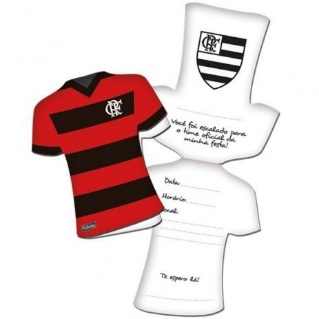 Convite De Aniversário Flamengo