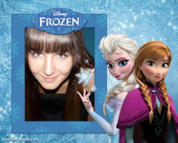 Moldura Frozen