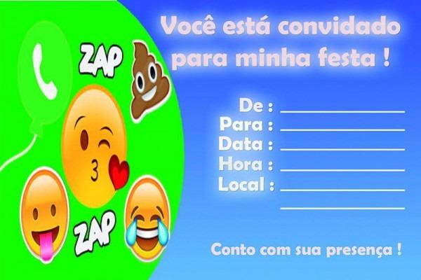 Convite Whatsapp