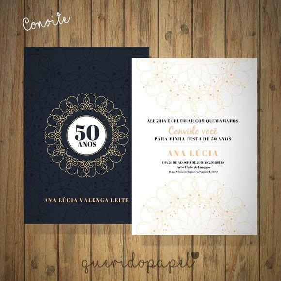 Convite 50 Anos Clássico