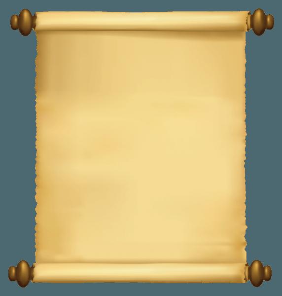 Moldura De Pergaminho Para Convite
