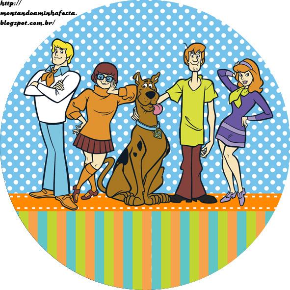 Montando Minha Festa  Kit Digital Scooby Doo