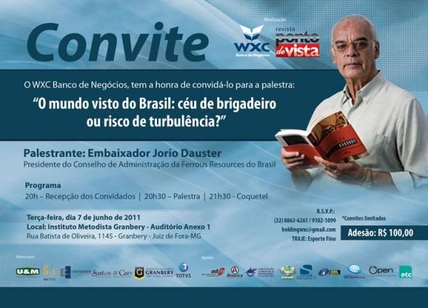 Blog William Xavier  Já Estão à Venda Os Convites Para A Palestra