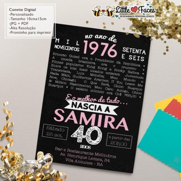 Convites De Aniversario Surpresa 70 Anos Em Convites