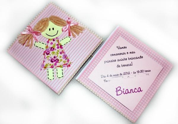 Passo A Passo] Convite Festa Infantil Boneca