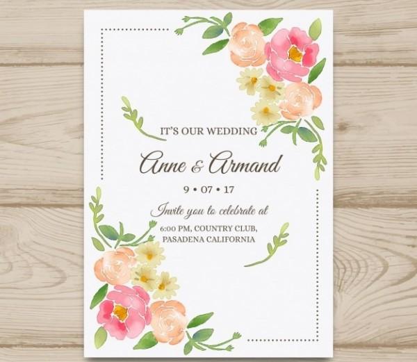 Convite Casamento 9 Modelos