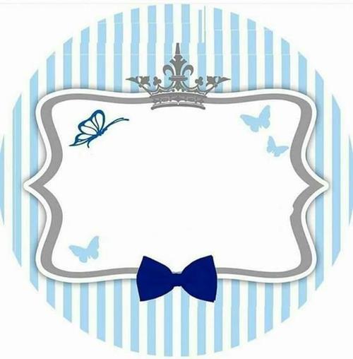 Convite Chá De Bebê Príncipe