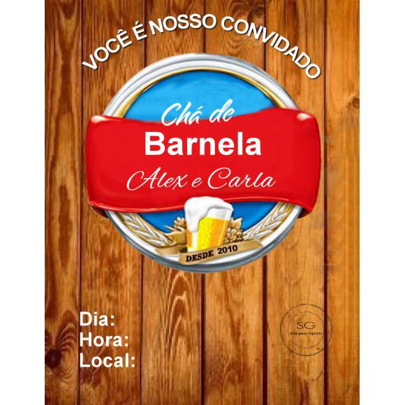 Convite Chá Bar 7 No Elo7